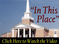 IN THIS PLACE  Video shown in worship services on Sunday, May 21.  Requires Flash player to view.